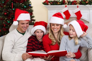 family-reading-christmas-memory-book